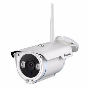 Image 2 - SRICAM SP007 1080 P كاميرا شبكية عالية الوضوح WIFI Onvif 2.4 P2P للهواتف الذكية للماء Vandalproof 15 m IR في الهواء الطلق كاميرا مراقبة للمنزل
