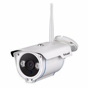 Image 2 - SRICAM SP007 1080P HD IP Camera WIFI Onvif 2.4 P2P for Smartphone Waterproof Vandalproof 15m IR Outdoor Home Security Camera