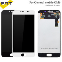 For General mobile GM 6 GM6 Android one LCD Replacement Digitizer Touch Screen + lcd display assembly + tools