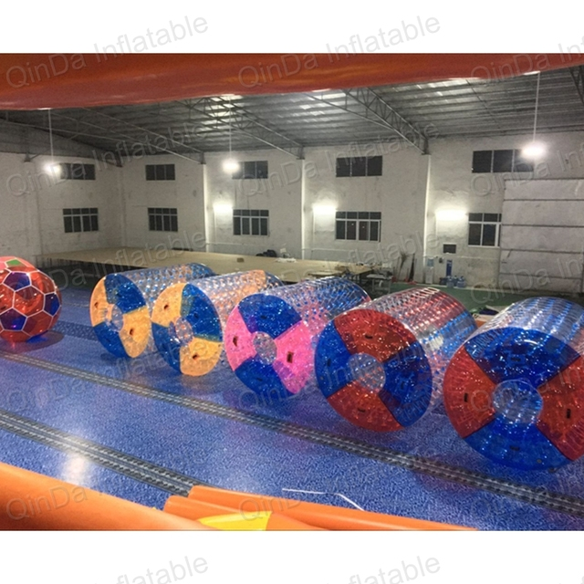 Air Tight PVC Inflatable roller orb / ball Cheap funny water roller, water roller balls