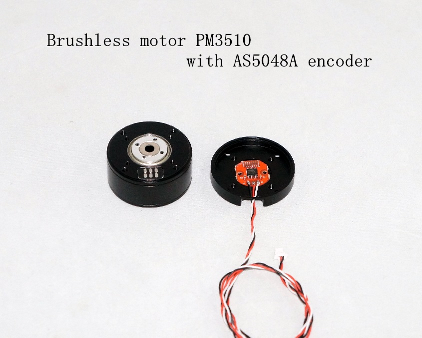 Brushless motor PM3510 with AS5048A encoder PTZ brushless motor AS5048A encoder For mirrorless camera etc