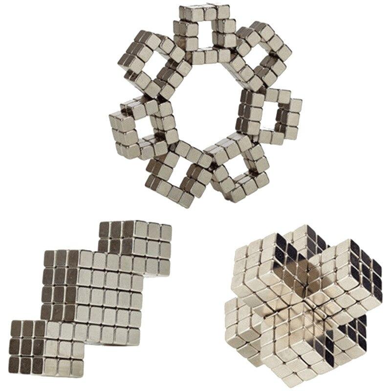 2019 New Style 3/4/5mm 216pcs Square Magic Magnet Magnetic DIY Balls Sphere Neodymium Cube Puzzle Decompression Toy