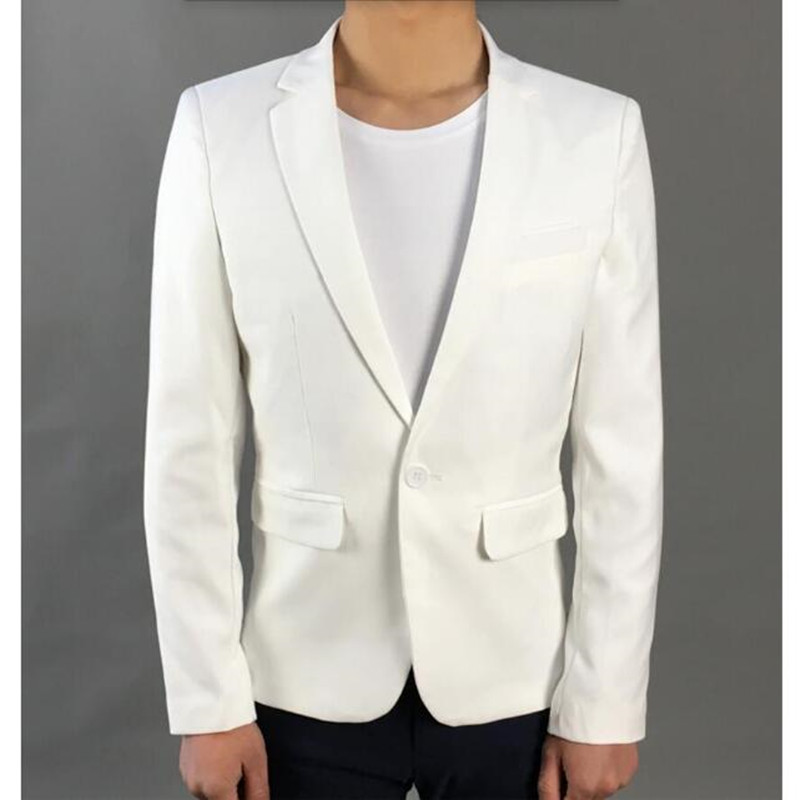 Real Blazer Men Autumn High Quality Mens Suit Jacket Wedding The Groom Business Fashion Trend Coat Suits Formal Occasions