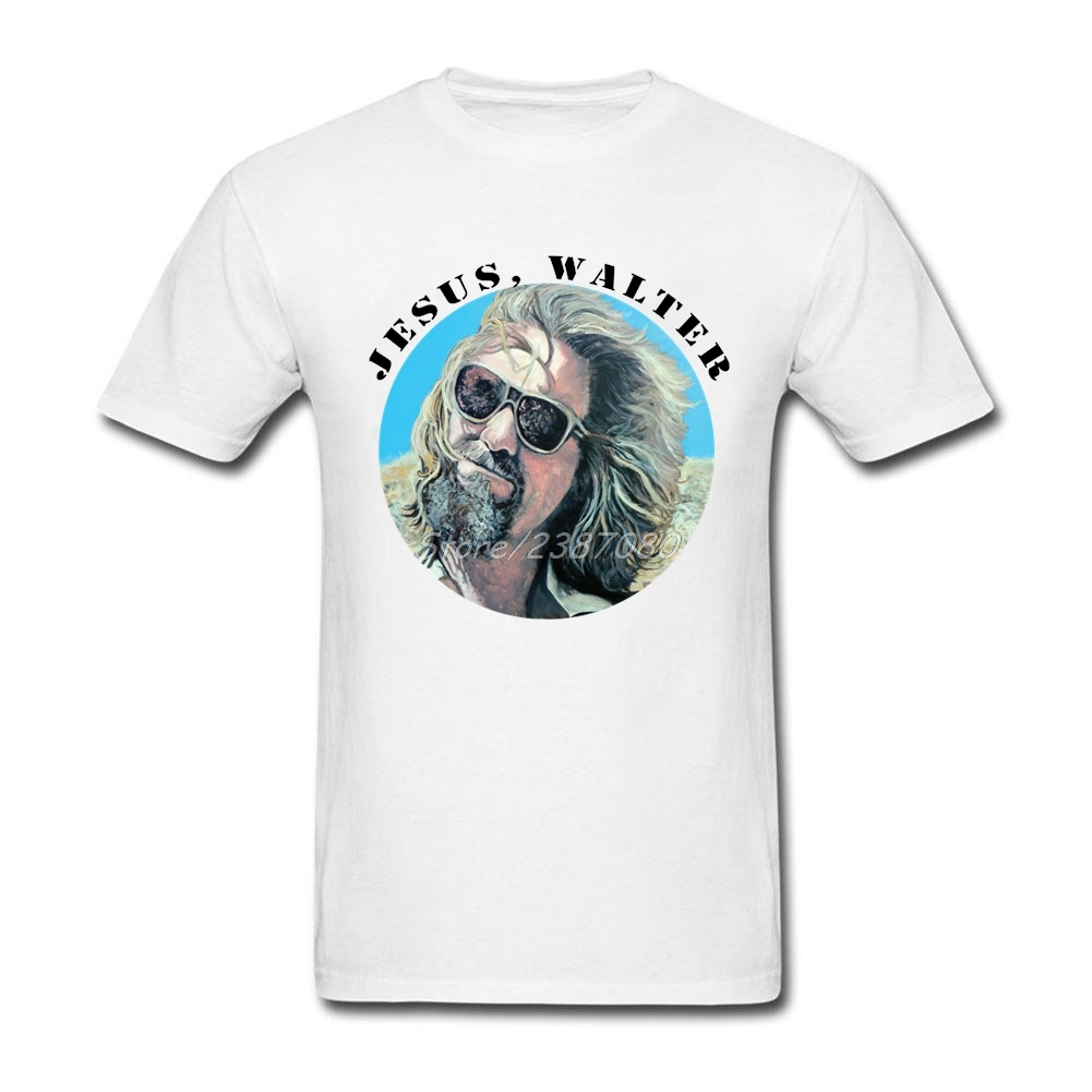 The Big Lebowski T Shirt 3XL Short Sleeve T-shirts For Men Fashion Funko Pop O-neck Cotton T Shirts For Boys