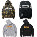 Thrasher Sweatshirt Men's Sweat Thrasher Flame Blaze Hoodie Fashion Brand Clothing Hip Hop Hooded Thrasher Sweatshirts