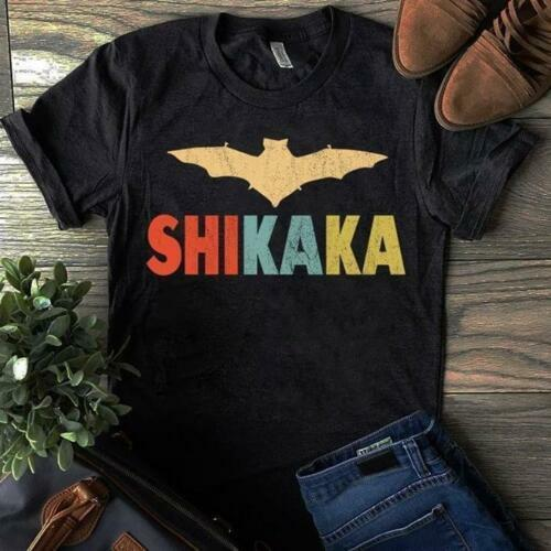 Ace Ventura Shikaka Bat Vintage Black Tshirt M 3Xl