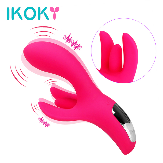 IKOKY 8+12 Mode Vibrator G-spot Massager Clitoris Stimulate Silicone Erotic  Sex Toys for Women Adult Products