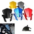 """Con """"mt-07"""" logo accesorios de motos parabrisas delantero kit para yamaha mt07 mt-07 mt 07 2013-2015 2013 2014 2015"""