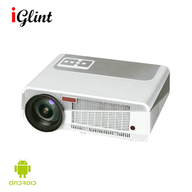 Original Cl720 Led Projector 3000 Lumens 1280 X 800: Newest Original LED86+ Android 4.4 Full HD Video Projector