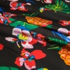 Printed Stretchy Silk Satin Fabric Fruit Pineapple Animal Bird Floral Leaves Pattern Smooth Twill Sewing Dress