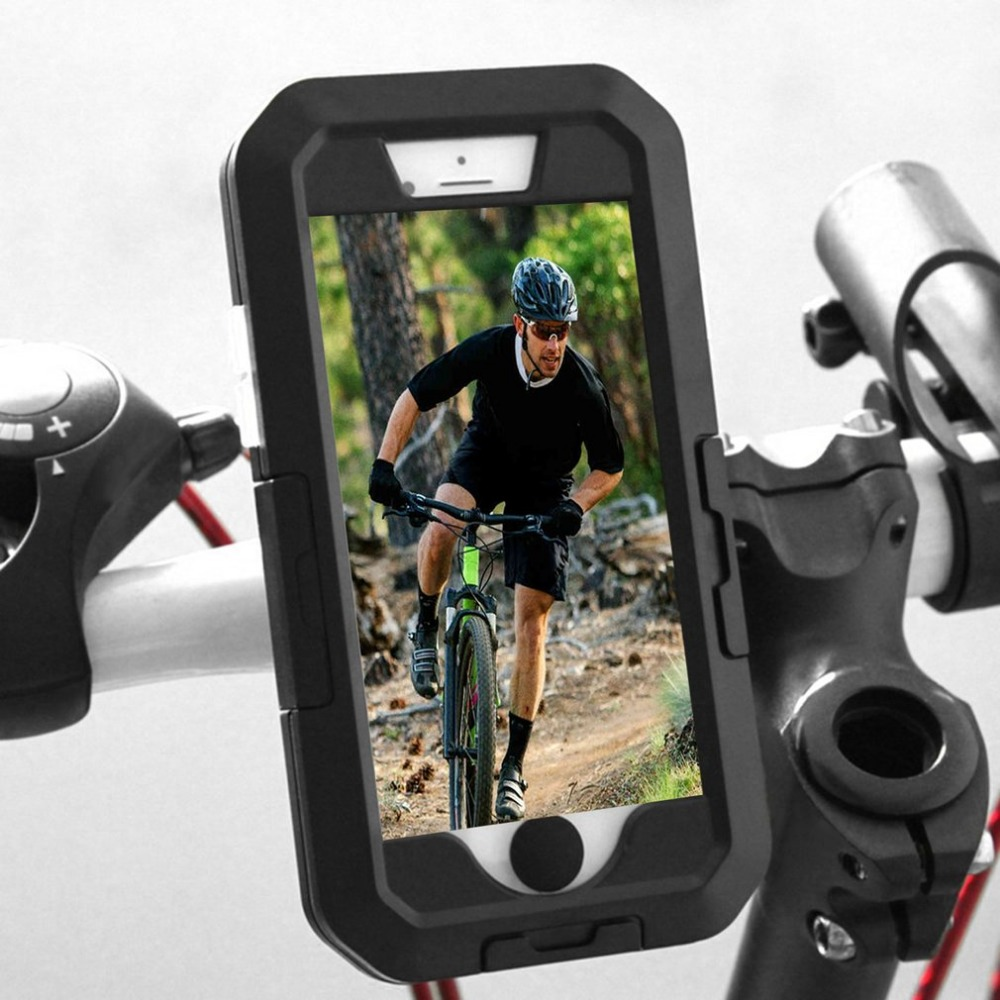 Bicycle phone case for iphone bike bag mobile phone coaver for iphone 7 8 6 6s plus holder pannier mobile phone bag case pouch