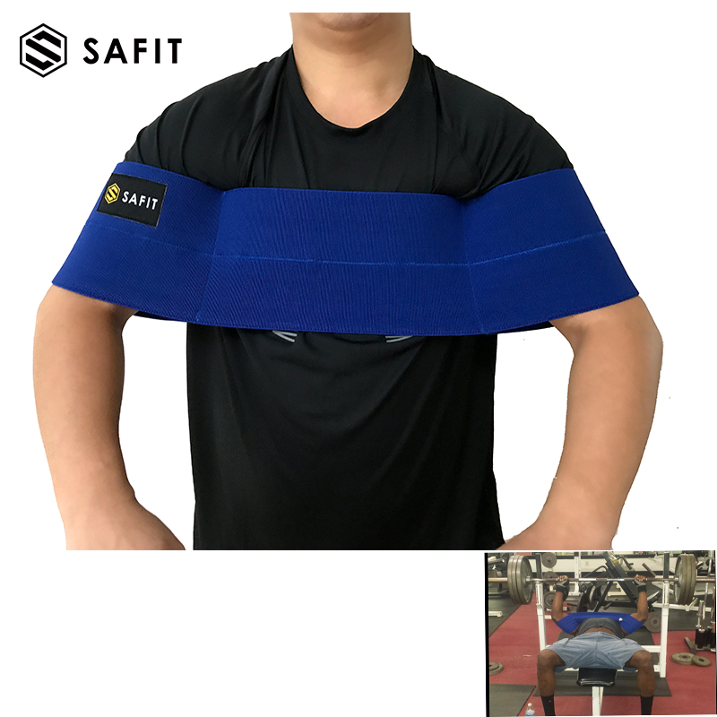 Safit Bench Press Sleeves Suport Knee Eblow Support