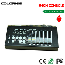 DHL free shipping  DMX 512 controller for stage lighting 512 dmx console DJ controller equipment 2xlot big discount 6 channel simple dmx controller for stage lighting 512 dmx console dj controller equipments free shipping