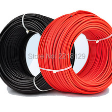 Boguang 2*20 м/лот(черный кабель 20 М+ Красный кабель 20 м) 2,5 мм2 Соединительный кабель для солнечных батарей 12AWG черный или красный TUV утверждения питания PV кабель