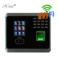 Face Recognition Time Attendance System UF100plus Biometric Fingerprint Time Attendance Time Clock Recorder With TCP/IP USB WIFI