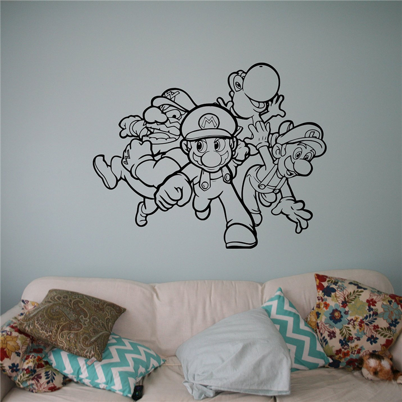 Video Game Wall Murals