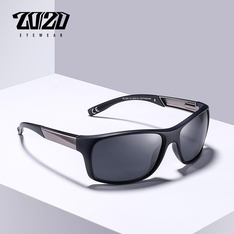 20//20 Brand Classic Black Polarized Sunglasses Men Driving Sun Glasses for man S