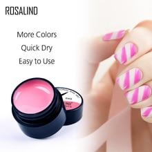 ROSALIND Soak Off UV LED Top Coat Nail Gel Polish 5ML Painting  Semi Permanent Nail Art Design For Manicure Polish Varnish недорого