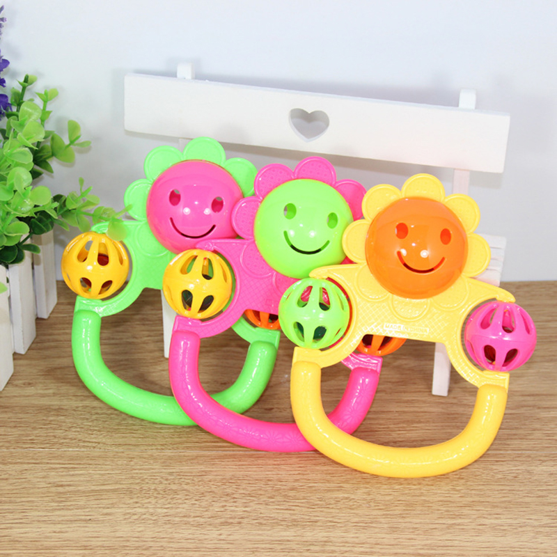 1pc Best Selling Creative Baby Plastic Rattle Educational ...