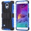 Top quality macio tpu plástico rígido híbrido phone case para samsung galaxy nota 3 Nota 4 N9100 Nota 5 Armadura À Prova de Choque Tampa Traseira