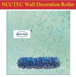 7 ''180mm NCCTEC gumowe ściany dekoracji wałek do malowania darmowa wysyłka | 244 różne | go używać z DM7 maszyny do dekoracji
