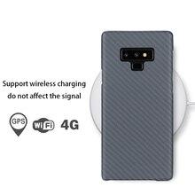 Для samsung Galaxy note 8 9 Материал корпуса арамидное волокно задняя крышка из углеродного волокна узор для samsung Galaxy S9 S9 Plus Чехол-матовый