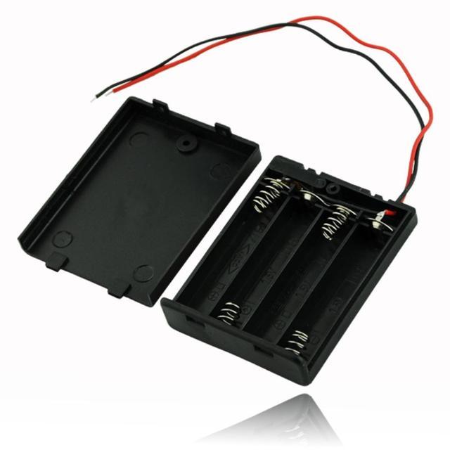 YCDC bricolage stockage support de la boîte boîtier de haute qualité 3x AA batterie boîtier de rangement clip de fixation pour 3 X AAA batterie Rechargeable