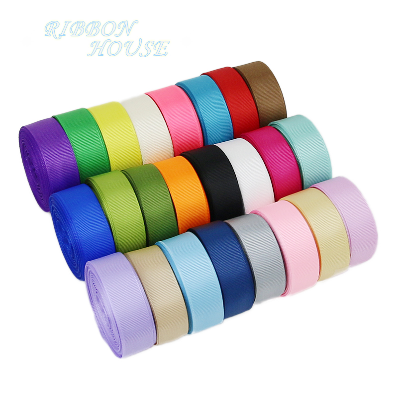 "(10 meters/lot)6/8"" (20mm) Grosgrain Ribbon Wholesale gift wrap Christmas decoration ribbons