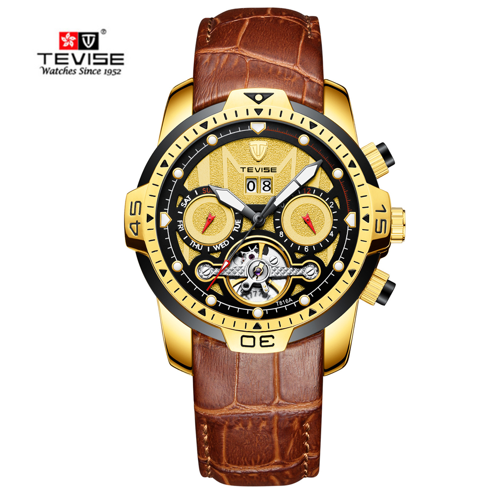 2018 Luxury Business Mens TEVISE WristWatch Mechanical Watches Automatic Waterproof Sport Fashion Relogio Automatico Masculino2018 Luxury Business Mens TEVISE WristWatch Mechanical Watches Automatic Waterproof Sport Fashion Relogio Automatico Masculino