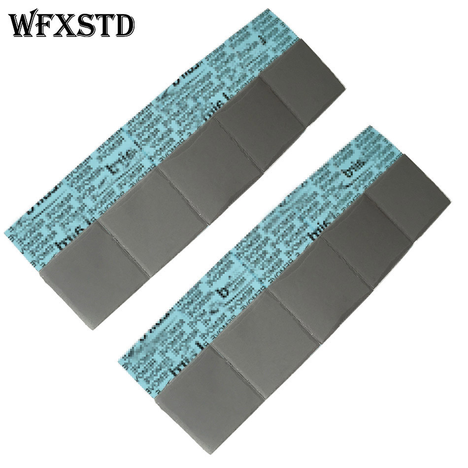 WFXSTD 1mm Silicon GPU Thermal Pad For LAIRD notebook graphics memory Beiqiao CPU GPU Thermal Silica pad flex740 Conductive Pad 73w mk grizzly bear liquid metal for thermal grizzly conductonaut 1g diy silicon grease for cpu gpu graphics card easy to cool
