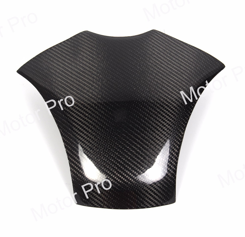 1 PCS FOR HONDA CBR 600 2007 2008 2009 2010 2011 2012 CBR600 Motorcycle Carbon Fiber Fuel Gas Tank Cover Protector for honda cbr600rr 2007 2008 2009 2010 2011 2012 motorbike seat cover cbr 600 rr motorcycle red fairing rear sear cowl cover
