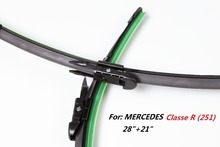 1 Pair(28″+21″) High Quality Car Windshield Special wiper blade for MERCEDES Classe R (251)