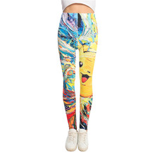 Elastic Pokemon Leggings