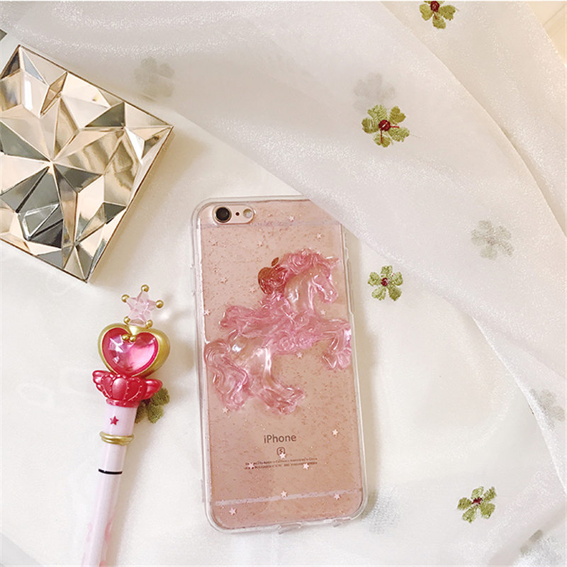 For Samsung S5 S6 S7 edge S8 S9 plus Note 3 4 5 8 Luxury fashion lovely girls Glitter Sequins 3D Tianma gel cell phone case