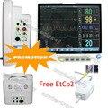 Touch Screen Patient Monitor 12 leads ECG+NIBP+Spo2+PR+Resp+EtCo2,CONTEC,CE,FDA