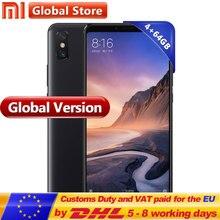 Küresel Sürüm Xiao mi mi Max 3 64 GB ROM 4 GB RAM Smartphone Octa Çekirdekli Snapdragon 636 Smartphone 6.9 ''tam Ekran 5500 mAh ...