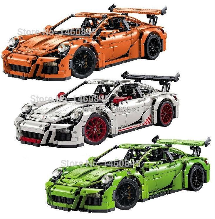 Decool 3368 LEPIN 20001 technic series car Model Building Kits Minifigures DIY Blocks Bricks 42056 boy gift toy 270 -  Dollhousebuilder store