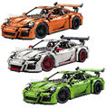 Decool 3368 technic series 911 car Model toy Building Kits  Blocks Bricks boy gift educational DIY toy 2704pcs Compatible 42056