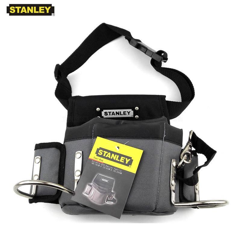 Stanley Carpenters Tool Waist Bag Storage Hammer Holder Bags Work Pocket Gadget Utility Pouch With Adjustable Belt Electricians