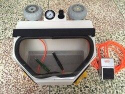 Прецизионная пескоструйная машина для ювелирных изделий, 220 В, универсальная пескоструйная установка, стоматологическое лабораторное обор...