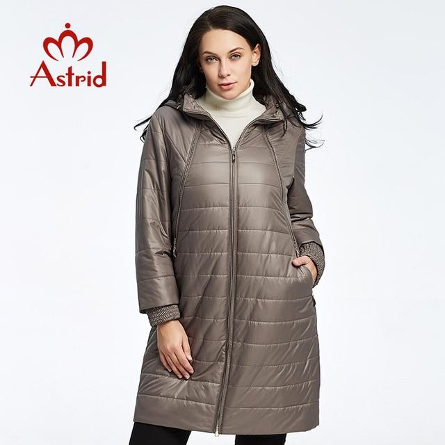 2019 Астрид зимняя куртка женщны осень-зима куртка высокого качества Модные теплые и удобные для отдыха женские брендовые парки AM-2303