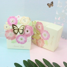 hot deal buy avebien 20pcs romantic wedding favors decor butterfly diy paper gift candy boxes wedding party candy box event party supplies