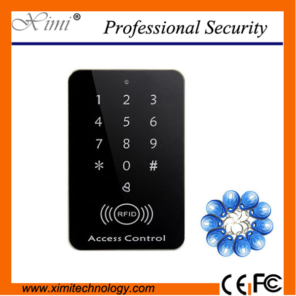 Single Access Control 1000 User Without Software Smart Switch To Open With Keyboard 13.56Mhz Card Reader F007B Access Controller single access control 1000 user without software smart switch to open with keyboard 13 56mhz card reader f007b access controller