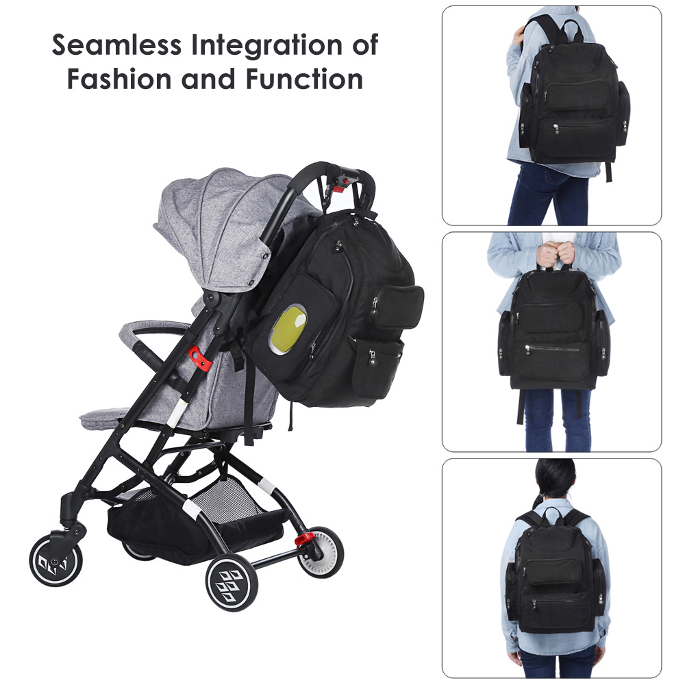 New arrival Baby Diaper Bag 73003 Fashion Mummy Maternity Nappy Bag Large Capacity Baby Bag Travel Backpack Designer Nursing Bag