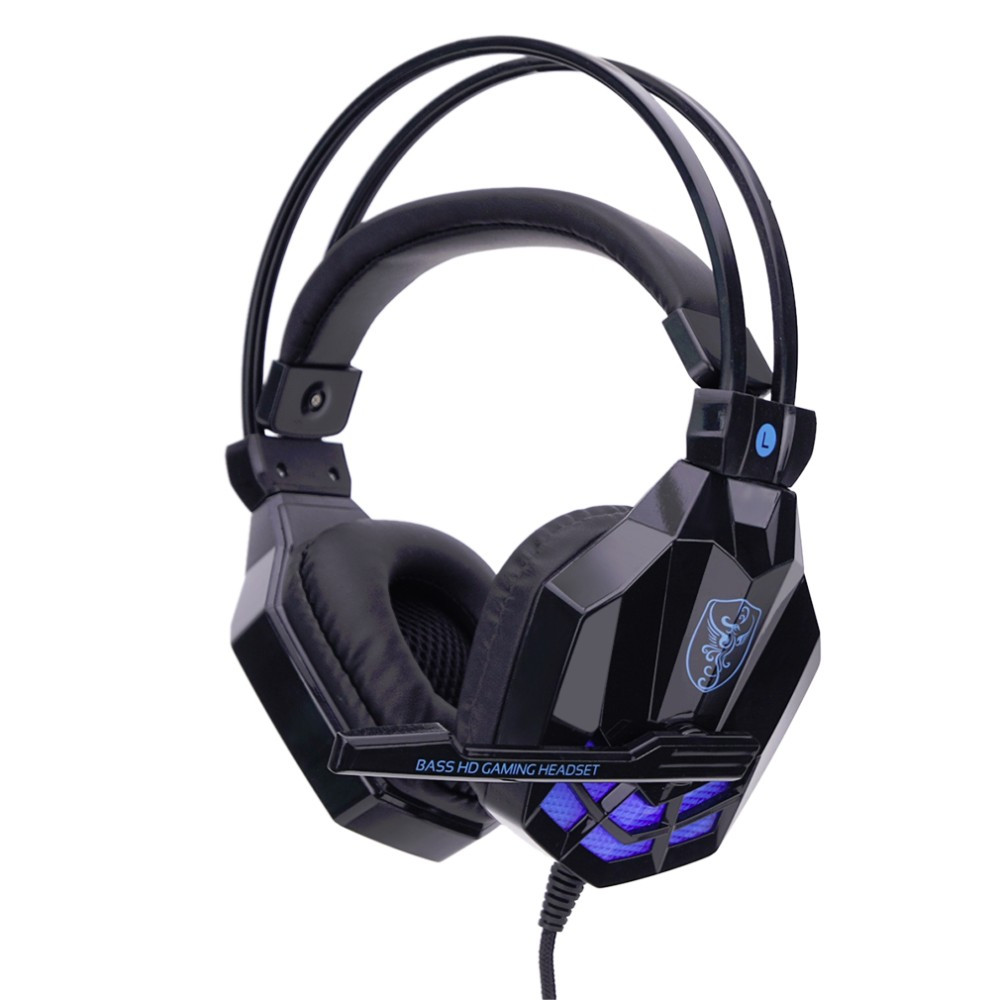 New And Fashional Hot USB 3.5mm Surround 3D Stereo Gaming Headset Headband Headphone with Microphone For PC For mp3