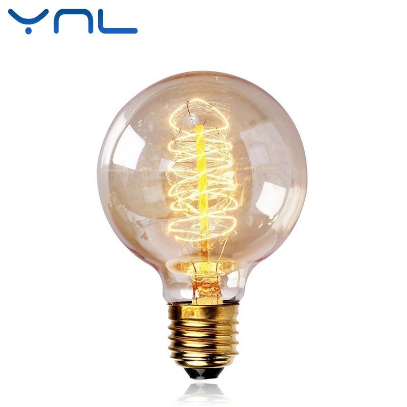 Buy G80 Led Filament E27 40w Bulb Online: Aliexpress.com : Buy YNL Edison Bulb E27 40W Antique
