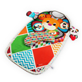 0m + 90cm Baby Activity Mat Crawling Mat Play Mat Pad Padded Bolster Large Mirror Teether Animals Lion Panda Elephant Gift