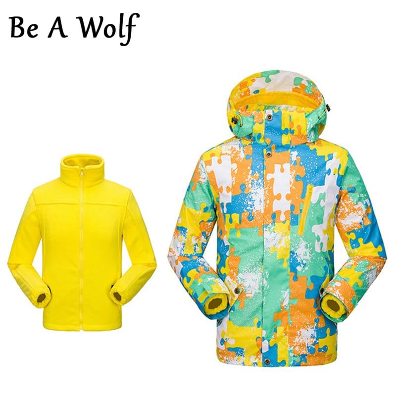 c4e3eb7b9 Be A Wolf Hiking Jackets Boys Spring Children Outerwear Warm Kids ...