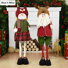 free shipping large size 95cm elk hat doll christmas decorations for home 2018 nacimiento navidad jesus