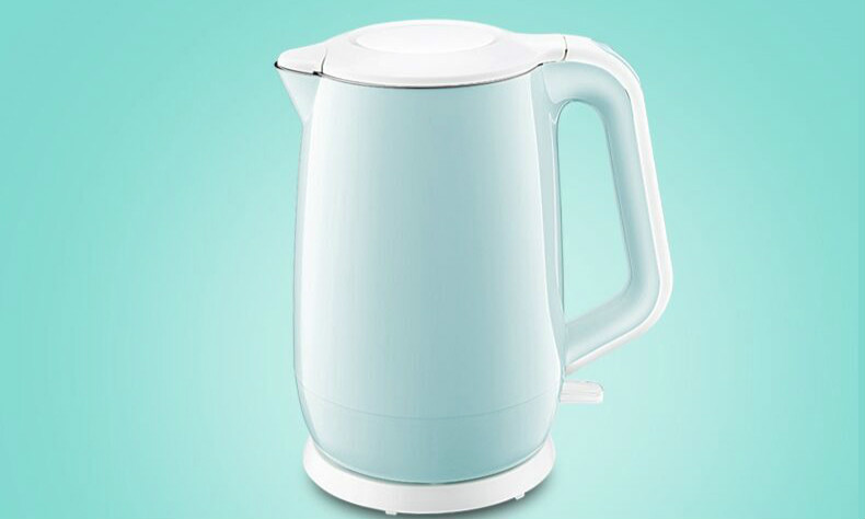 лучшая цена electric kettle has 304 stainless steel double-layer automatic power failure Safety Auto-Off Function